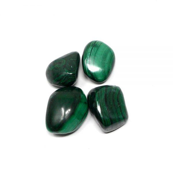 Malachite md tumbled 4oz All Tumbled Stones Africa