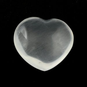 Girasol Heart, md All Polished Crystals