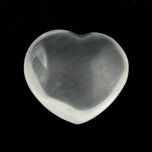 Girasol Heart, md All Polished Crystals girasol