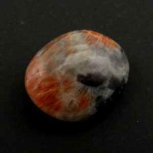 Sunstone in Iolite Pebble Gallet iolite