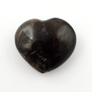 Smoky Quartz Heart, md All Polished Crystals