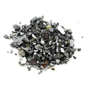 Galena Chips, 2oz All Raw Crystals galena