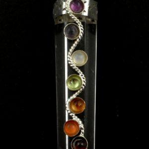 Quartz Chakra Pendant All Crystal Jewelry chakra