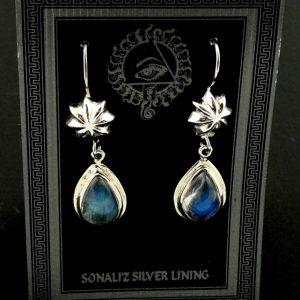 Rainbow Moonstone Earrings All Jewellery