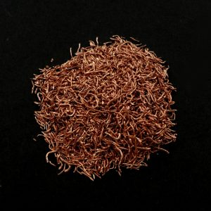 Copper, Crushed Wire Raw Crystals copper