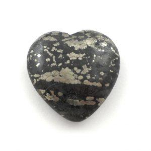 Healer's Gold Heart Polished Crystals healers gold