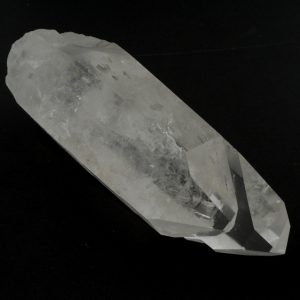 Lemurian Quartz, Dolphin Point, Part Polished All Raw Crystals