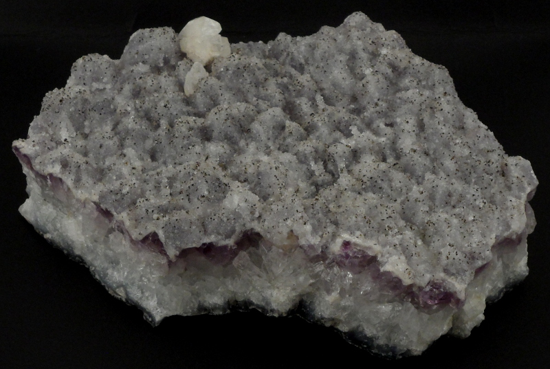 Amethyst Cluster with Calcite All Raw Crystals amethyst