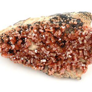 Vanadinite Mineral Specimen All Raw Crystals vanadinite