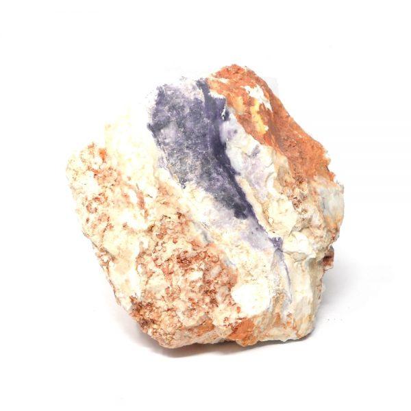 Purple Opalite Crystal All Raw Crystals opalized fluorite