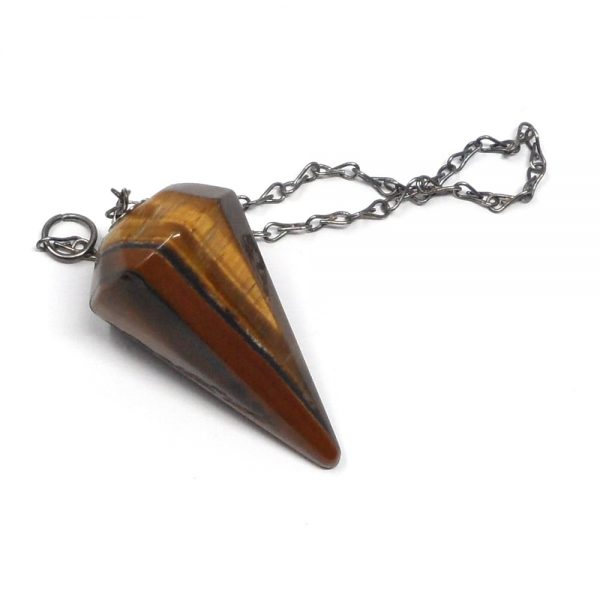 Tiger Eye Pendulum All Specialty Items crystal dowsing