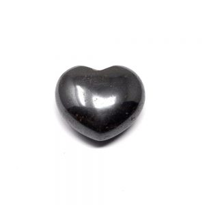 Hematite Heart 45mm All Polished Crystals crystal heart