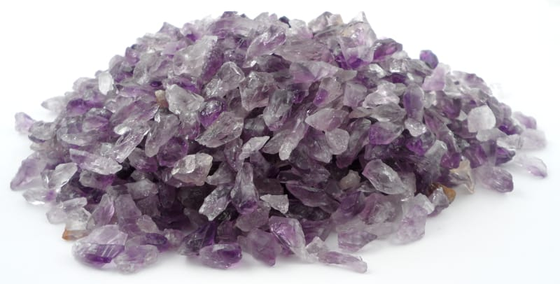 Amethyst Points (Dragon's Teeth), Sm, 16oz All Raw Crystals amethyst