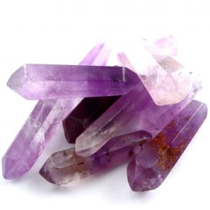 Amethyst Wands, extra small, 10pc All Polished Crystals