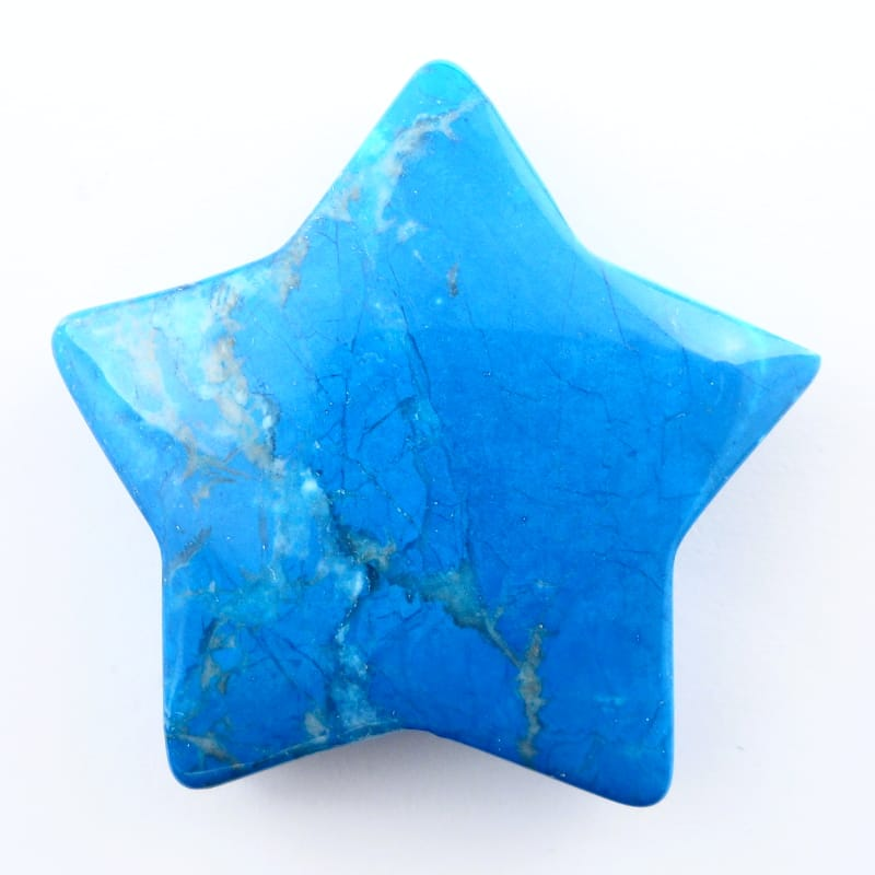 Blue Howlite Star Specialty Items blue howlite