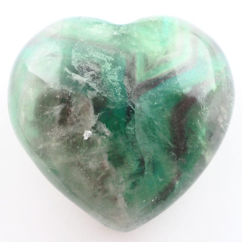 Fluorite, Heart XQ All Polished Crystals