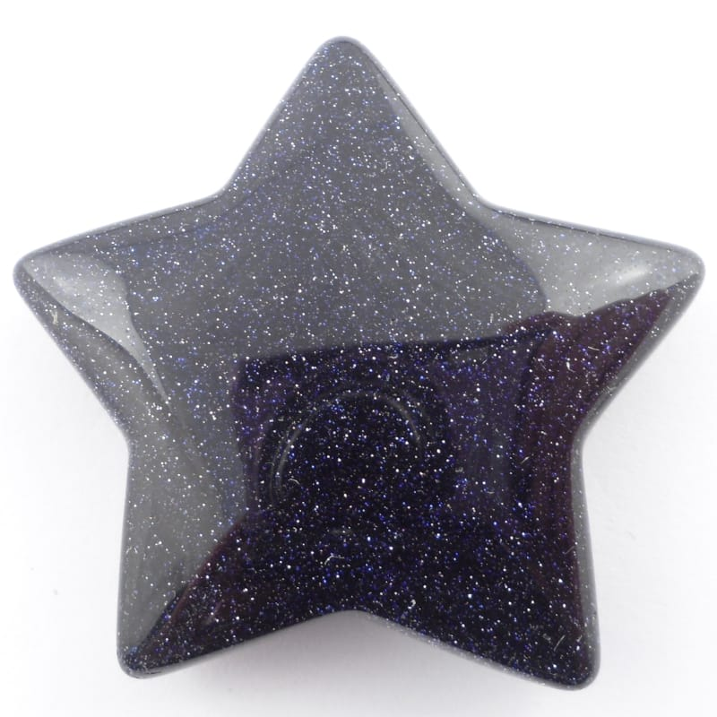 Blue Goldstone Star All Specialty Items blue goldstone