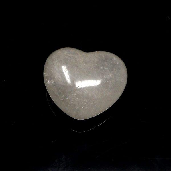 Clear Quartz Heart 45mm All Polished Crystals clear quartz