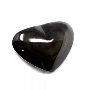 Rainbow Obsidian Heart All Polished Crystals crystal heart