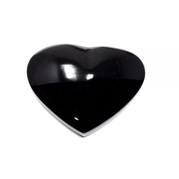 Rainbow Obsidian Heart All Polished Crystals crystal heart