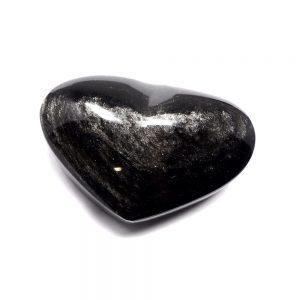 Sheen Obsidian Heart All Polished Crystals crystal heart