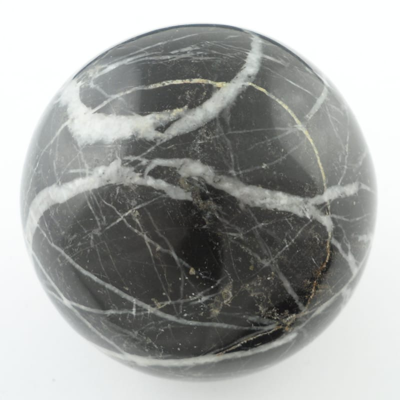 Black Onyx Sphere All Polished Crystals