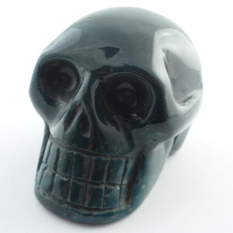 Bloodstone, Skull Polished Crystals bloodstone