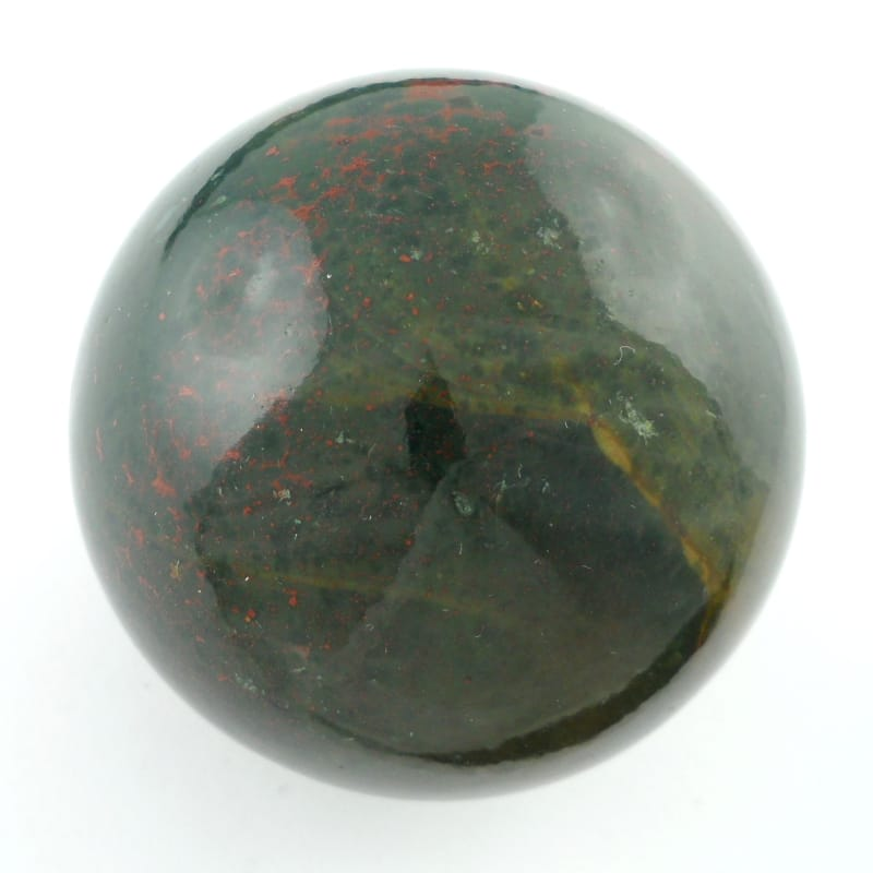 Bloodstone Sphere Polished Crystals bloodstone