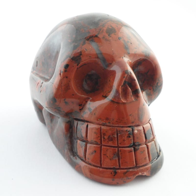 Brecciated Jasper Skull All Polished Crystals brecciated jasper