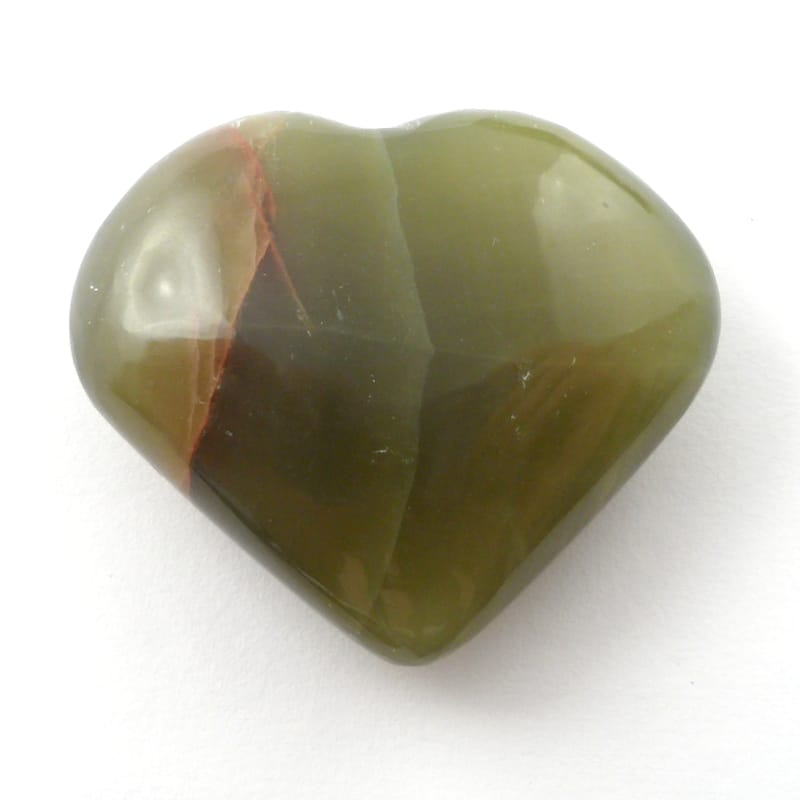 Onyx, Green Heart All Polished Crystals