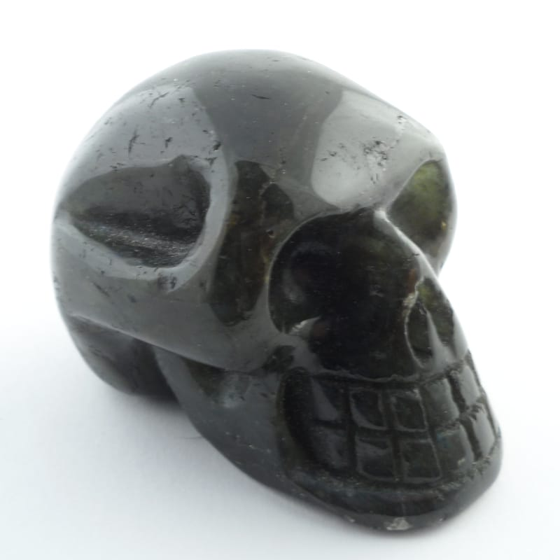 Labradorite Skull All Polished Crystals