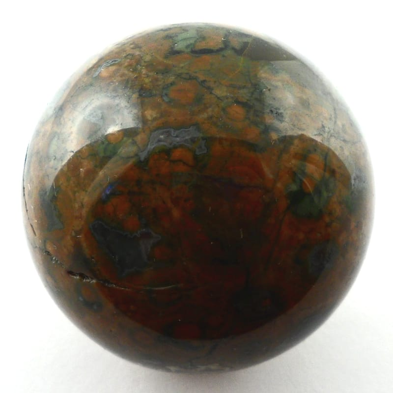 Rhyolite Sphere, 40mm All Polished Crystals rhyolite
