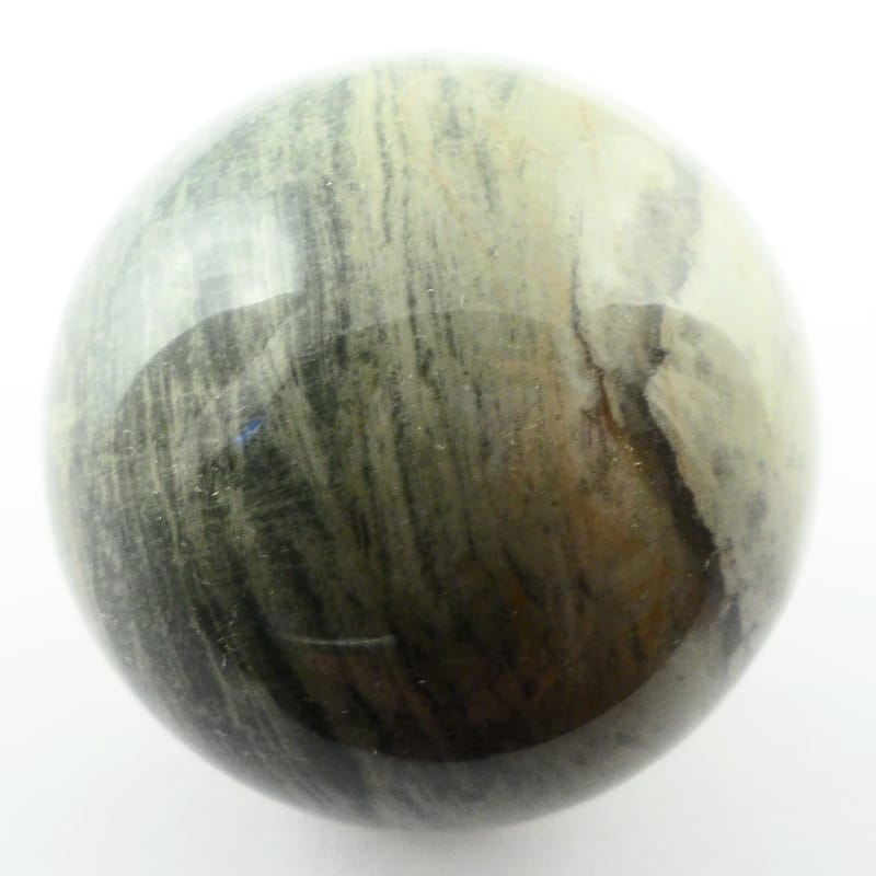 Agate, Silver Lace Sphere, 30mm All Polished Crystals
