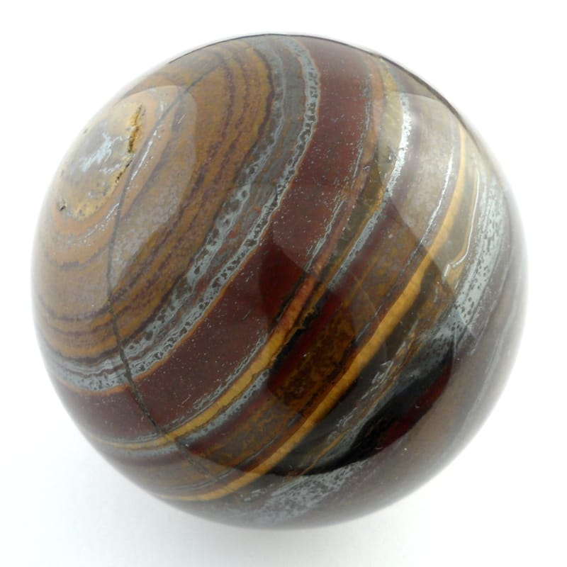 Tiger Iron, Sphere, 50mm Polished Crystals 50mm