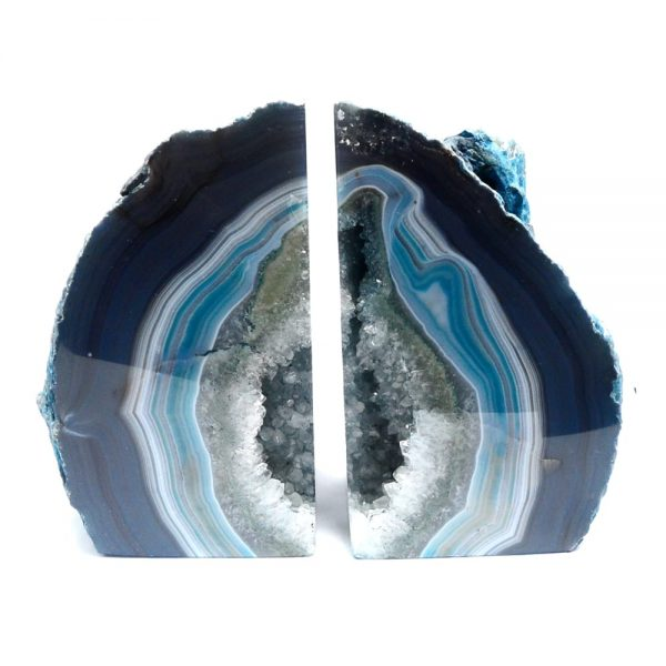 Agate Bookends – Blue All Specialty Items agate