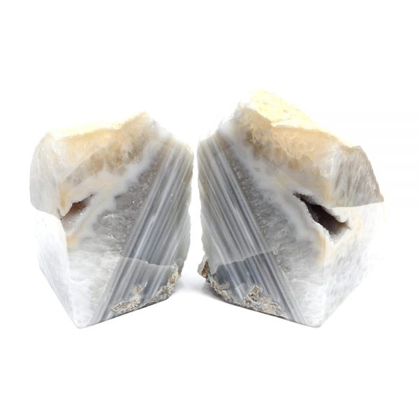 Agate bookends – Natural Agate Bookends agate