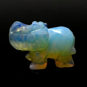 Opalite Elephant All Specialty Items crystal animal