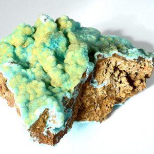 Hemimorphite, Blue Raw Crystals blue hemimorphite
