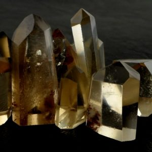 Citrine Generator, xs All Polished Crystals Citrine
