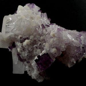 Fluorite on Celestite Specimen All Raw Crystals celestite