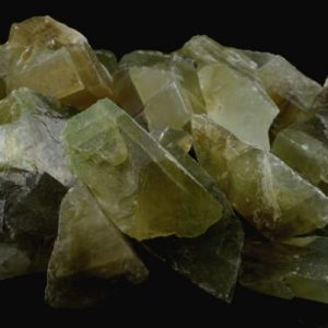 Calcite, Green, Raw Bulk All Raw Crystals calcite