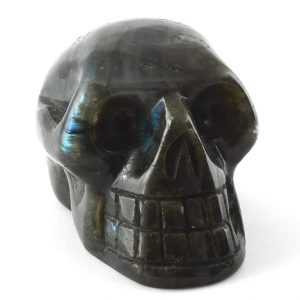 Labradorite Skull Polished Crystals labradorite