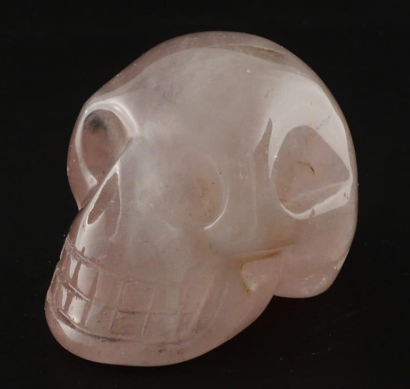 Quartz, Rose Skull All Polished Crystals