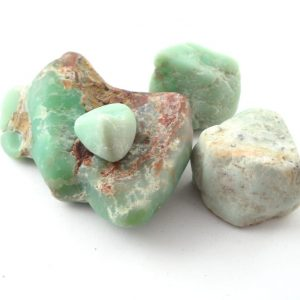 Chrysoprase, Raw, 4oz All Raw Crystals