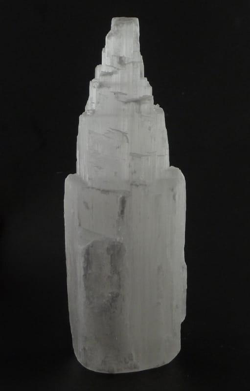 Selenite Skyscraper 6 inch All Raw Crystals crystal skyscraper
