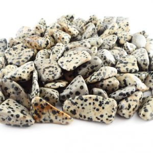 Dalmatian Stone, tumbled, 16oz