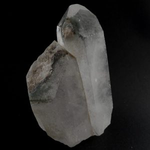 Quartz with Chlorite Point Raw Crystals chlorite