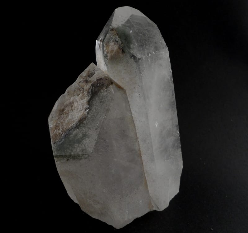 Quartz with Chlorite Point All Raw Crystals chlorite