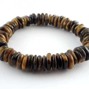 Tiger Eye Heishi Bracelet All Crystal Jewelry bracelet