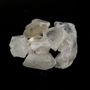 Quartz Pieces 3-7cm 16oz All Raw Crystals bulk clear quartz